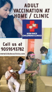 Adult Vaccination in Hyderabad given by Dr. Babu Medehel at Kids Docs Clinics