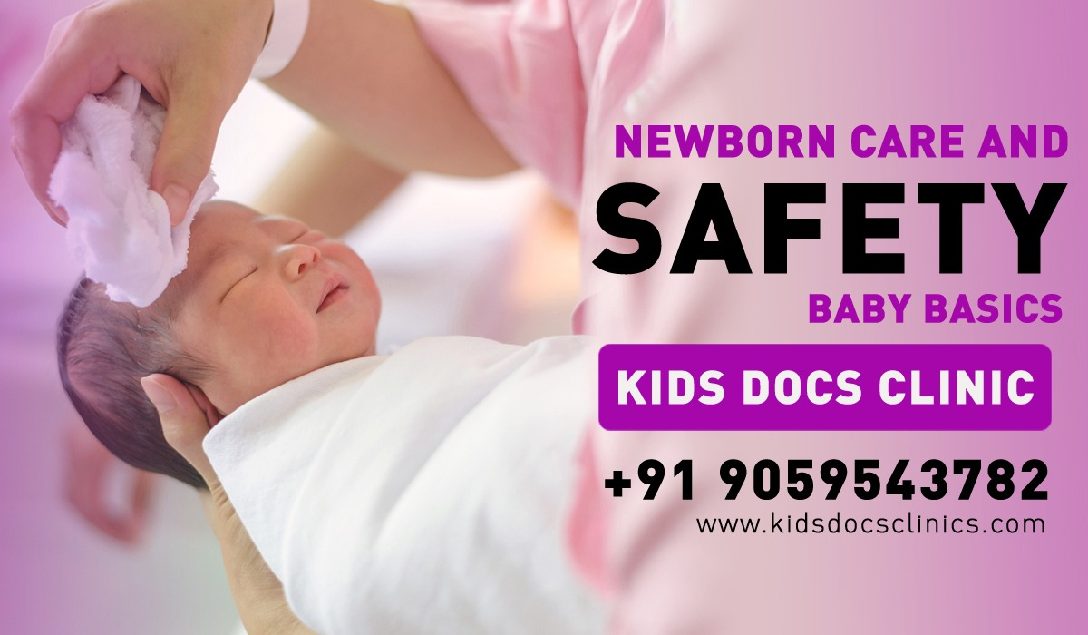 basics of newborn care and child safety for new parents